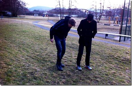 Carsten und Micha beim Cross
