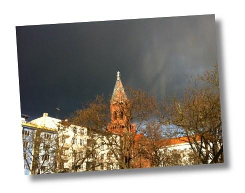 Ungemütliches Wetter in Berlin