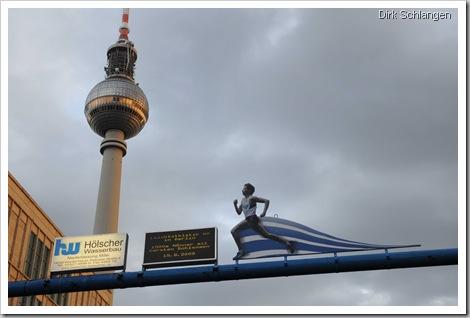 Stadtwerbung Alexanderplatz Weltmeisterschaften in Berlin