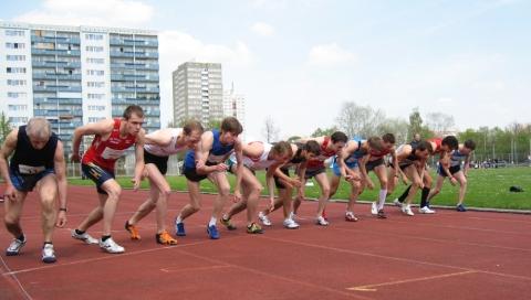 1. Berliner Läufermeeting - Start 600m-Lauf