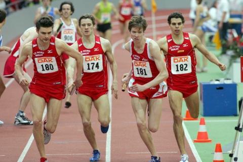 Nur das Ziel ist klar! Der Staffeltitel bei den Deutschen Hallenmeisterschaften 2008