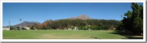 Rasenflächen Universität Stellenbosch