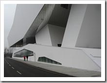 Seitenansicht Porschemuseum
