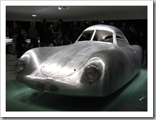 Modell vom Ur-Porsche