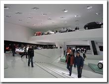 Ausstellungsraum Porschemuseum