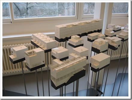 Stuttgart Weißenhofsiedlung Modelle