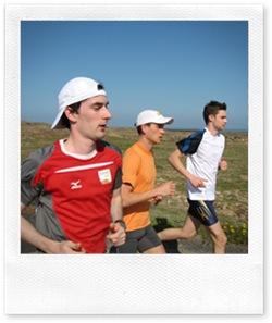 Trainingslager Lanzarote - Hauptstadtläufer Kai-Markus Kirchner, Falko Zauber und Merlin Rose