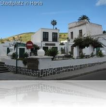 Platz in Haria Lanzarote