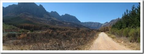 Jonkershoek Nationalpark Südafrika