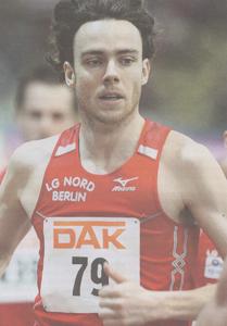 Franek Haschke Leichtathletik Bericht 16.04.08