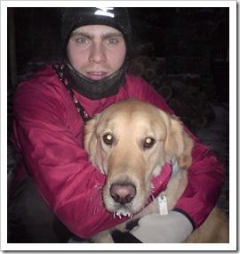 Merlin Rose mit Hund