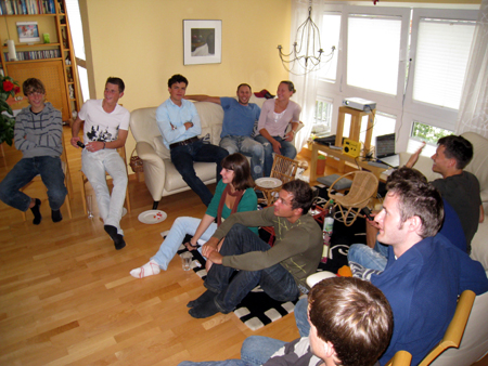 Public Viewing Gruppe